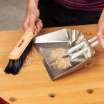 Woodpeckers Dustpan and Bench Brush