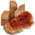 Red Coolibah Burl Blanks