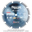"""Amana Tool Electro-Blu 10"""" 50-tooth Combination Table Saw Blade"""