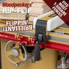 Woodpeckers Rip-Flip Fence Stop System - Powermatic/Biesemeyer