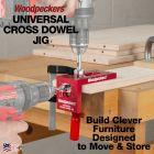 Woodpeckers Universal Cross Dowel Jig