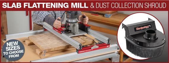 Slab Flattening Mill & Dust Collection Shroud