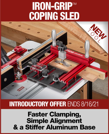 iron grip coping sled