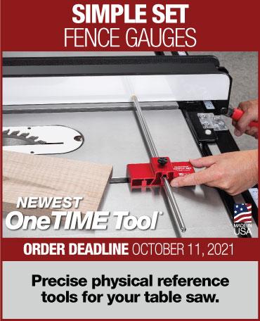 simple set fence gauge