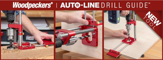 auto line drill guide